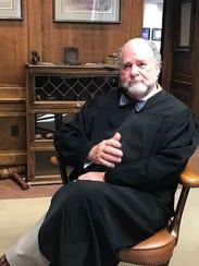 Shelby County Juvenile Judge Dan Michael after a recent