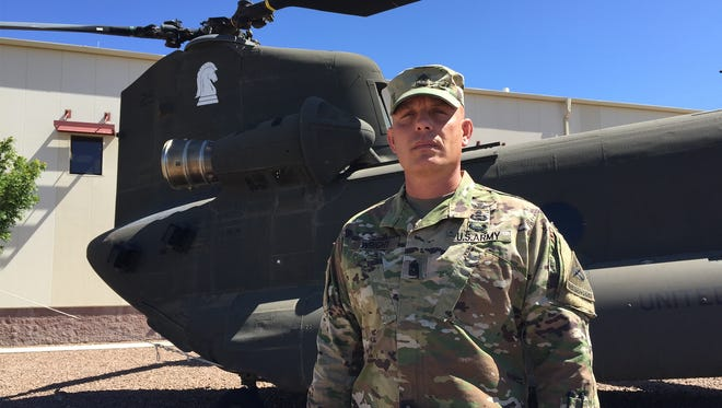 Command Sgt. Maj. Howard A. Wright III is the new senior enlisted leader for 2nd Battalion, 501st Aviation Regiment.