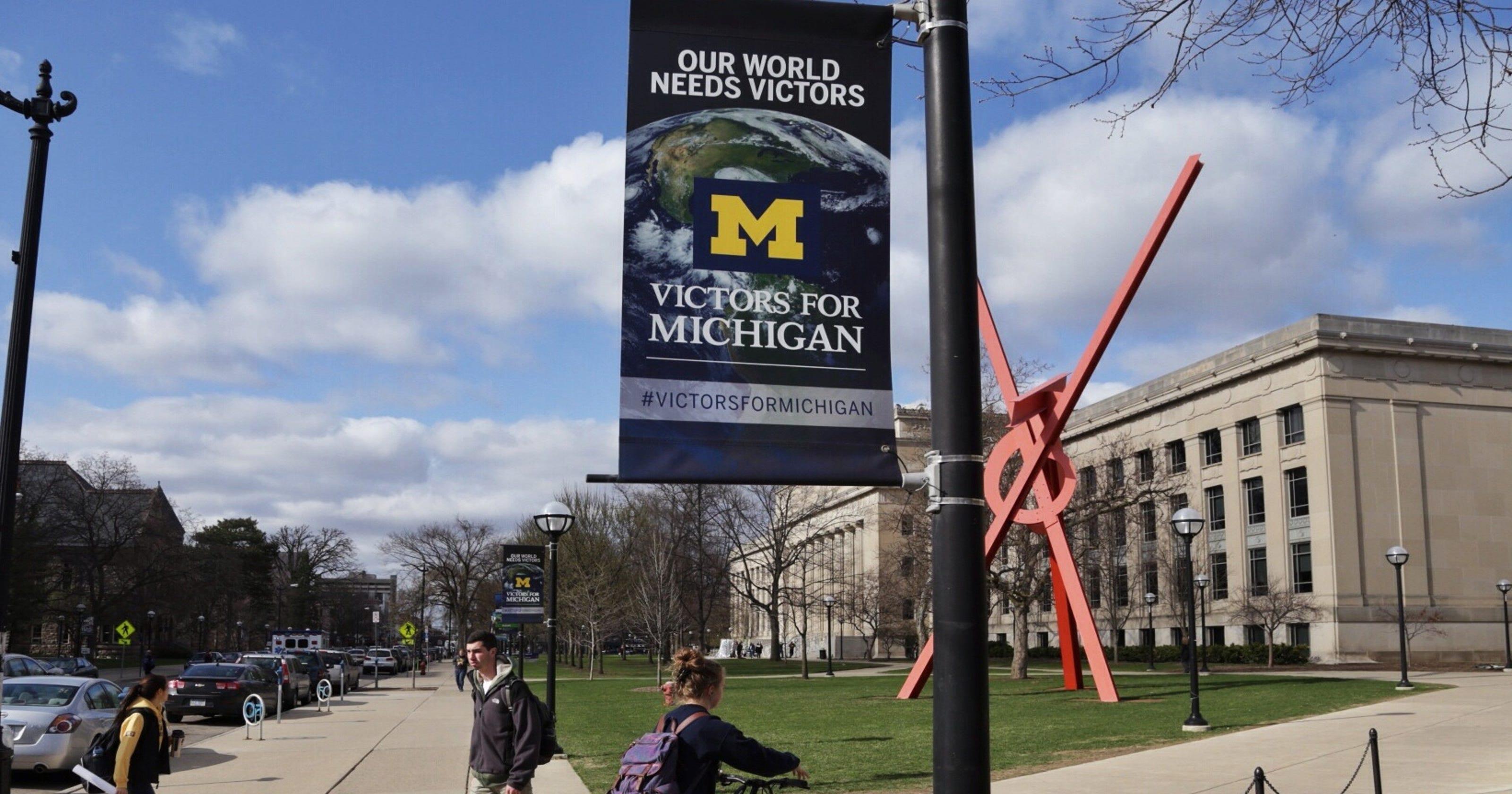 Minority enrollment up at U-M