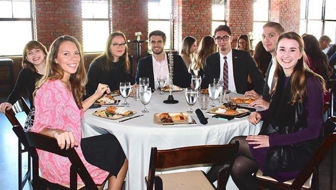 A photo taken at the brunch event.