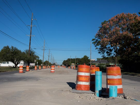 A cycle track will be included on Gollihar Road, which is undergoing reconstruction, as part of a 290-mile Bicycle Mobility Network.