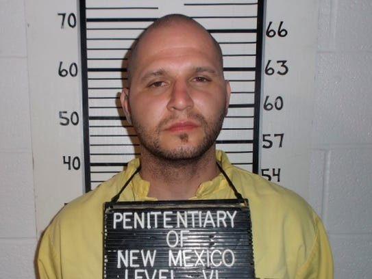 This photo provided by the New Mexico Corrections Department