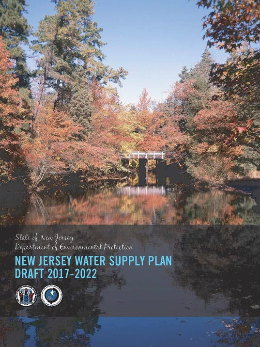 2017 NJ Water Master Plan update draft