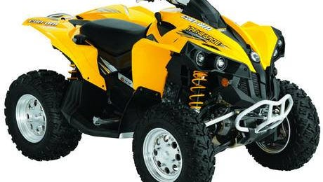 Sanilac County sheriff deputies are looking for a 4-wheeler similar to the one pictured.