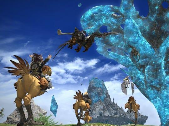 Final Fantasy XIV: Heavensward.