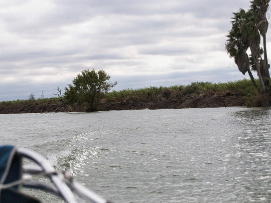 Land has been cleared in the Rio Grande Valley in Texas in preparation for a privately funded project to build a separation wall on the border with Mexico.