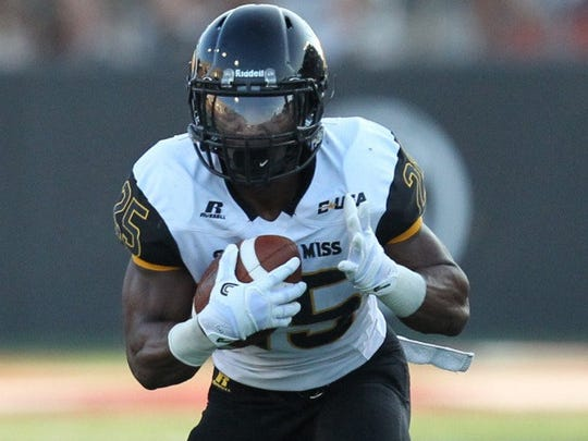 Southern Miss running back Ito Smith.