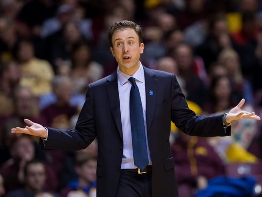 Minnesota coach Richard Pitino attempts to regain footing
