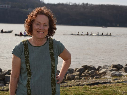 Linda Marston-Reid, pictured at Victor C. Waryas Park in the City of Poughkeepsie.