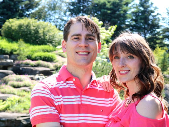 Joanna Lauren and her fiance Kyle Croes