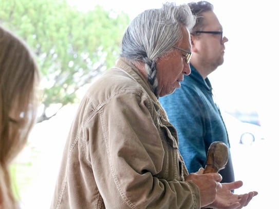 At the beginning of the prayer ceremony, Don Fish asked