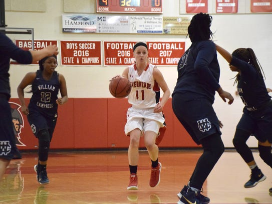 Riverheads' Sara Moore was named to the first team