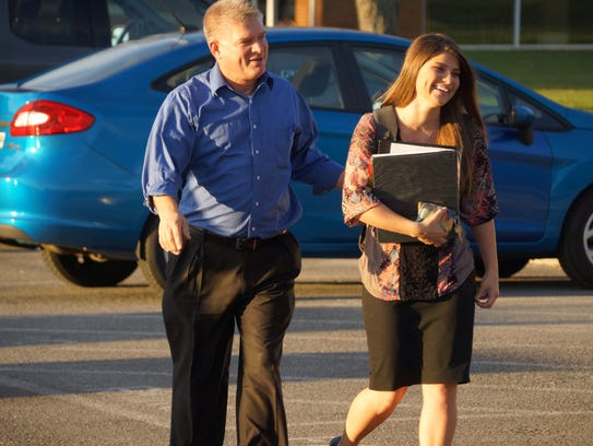 "Gil and Tori Bates on an episode of ""Bringing Up Bates."""