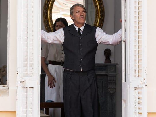 Antonio Banderas portrays the later years of Pablo
