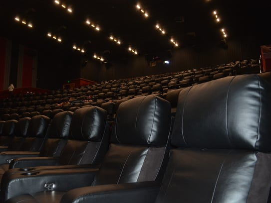 Even the 286-seat UltraScreen theaters inside The Majestic
