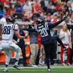 Ole Miss Carlos Davis is another cornerback hit by the injury bug. He was also the Rebels' No. 1 punt returner.