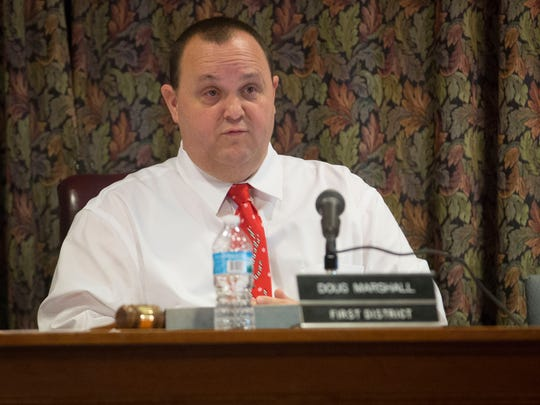 Doug Marshall. Muncie City Council president