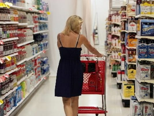 MCT photo; Hungry? New research shows you might make bad choices in the grocery store.