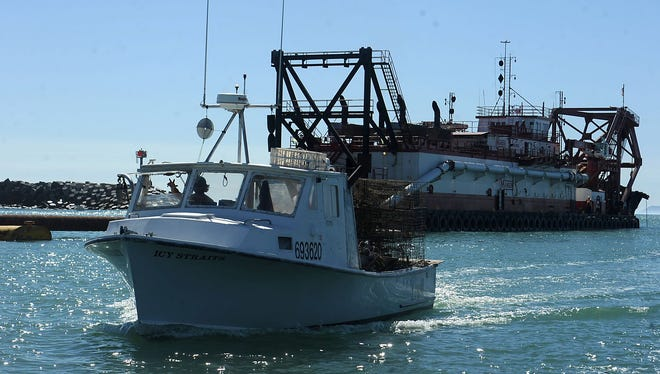 Ventura Harbor had to be dredged earlier this year before it could be reopened.