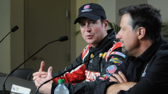 Kurt Busch will drive the No. 26 car of Andretti Autosport in this year's Indianapolis 500. It will be his first open-wheel race.