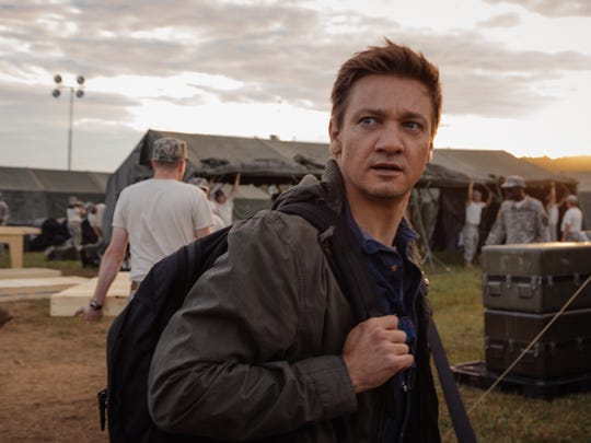 """Jeremy Renner plays Ian Donnelly in """"Arrival."""""""