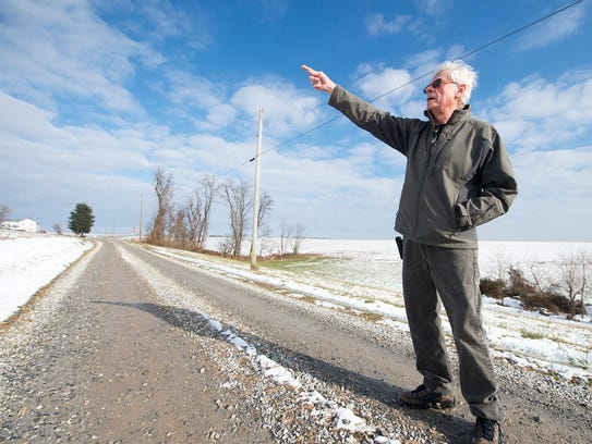 Power line encroaches on 200 year family farm in southern for Randy stewart builder