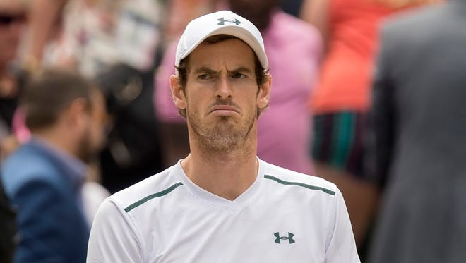 Andy Murray has not played since his Wimbledon quarterfinal loss to Sam Querrey.