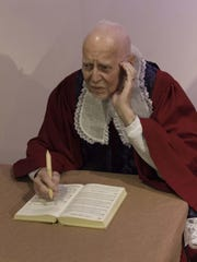 Jerry Dahlen of Inkster portrays Charles Wesley in
