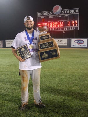 Cameron Cole was named the MVP of the national club baseball tournament.