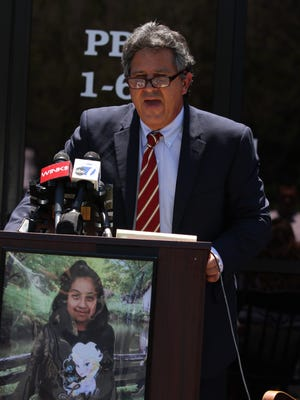 Local attorney Thomas R. Busatta, working for the family of missing 9-year-old Diana Alvarez said the search for the girl has come to an end. Busatta, who is a friend of the family and is working pro bono, made the statements outside his office in south Fort Myers Wednesday.