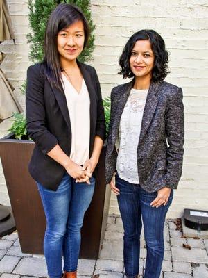 Trace Genomics' founders Diane Wu and Poornima Parameswaran