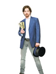 "Christian Borle in ""Charlie and the Chocolate Factory."""
