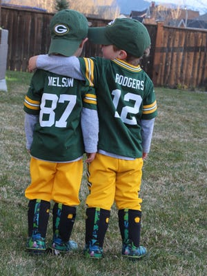 Twins Desmond and Christian Abel of Pray, Mont., were on the Packers Fan Appreciation Day tickets in 2016. The contest for a fan photo for a game day ticket in 2017 opened March 10.