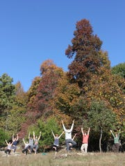 Outdoor yoga hikes will be during the 9th annual  Outdoor Rendezvous.