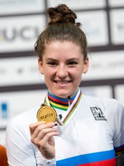 World champion and new world record holder Chloe Dygert