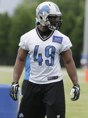 Detroit Lions linebacker Julian Stanford.