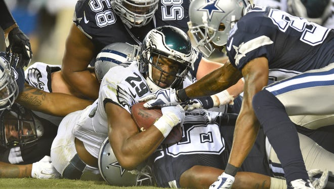 Will Eagles RB and former Cowboy DeMarco Murray be an NFC East champ two years  in a row?