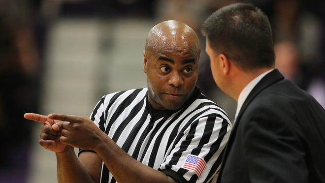 Franklin High graduate Jeffrey Anderson, 47, has officiated in eight straight NCAA Tournaments but on Sunday he's expected to make his first Elite 8 appearance. He's scheduled to referee South Regional Final between the winners of Duke-Utah and Gonzaga-UCLA.