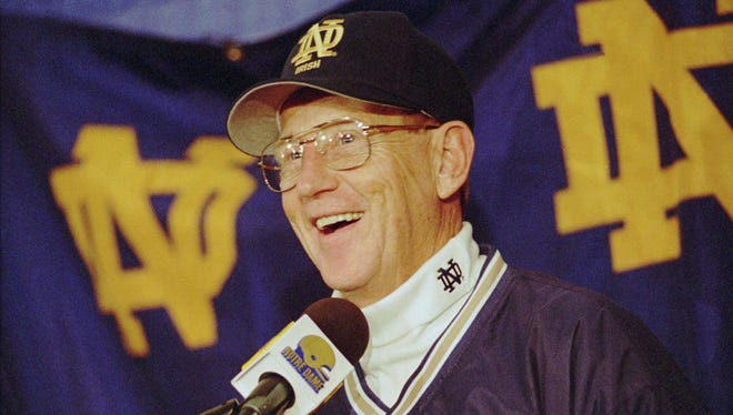 Lou Holtz was always great for a fun quote.
