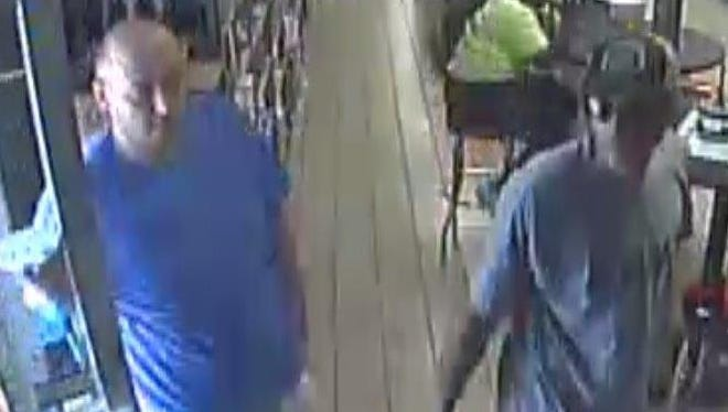 Metro Police are searching for these men in relation to Freon theft on Aug. 16, 2016.