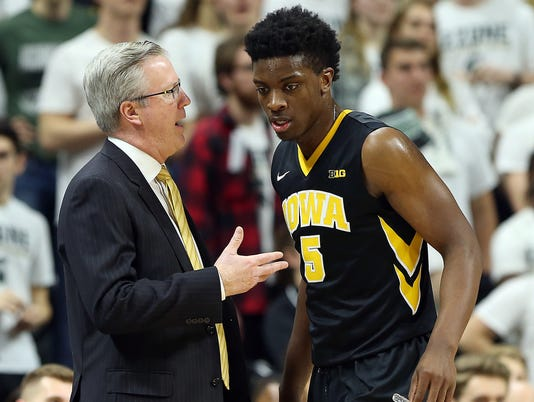 NCAA Basketball: Iowa at Michigan State