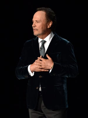 Actor Billy Crystal speaks onstage at the 66th Annual Primetime Emmy Awards held at Nokia Theatre L.A. Live on August 25, 2014 in Los Angeles, California.