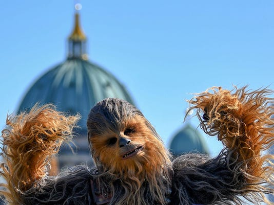 GERMANY-CINEMA-STAR WARS