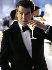 The classic James Bond drink -- seen here -- is the