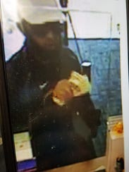 FBI officials are searching for a man who robbed BBVA
