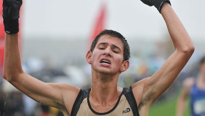 Corunna's Ben Jacobs, who finished third at last week's Greater Lansing meet, has been one of the area's fastest runners this fall.