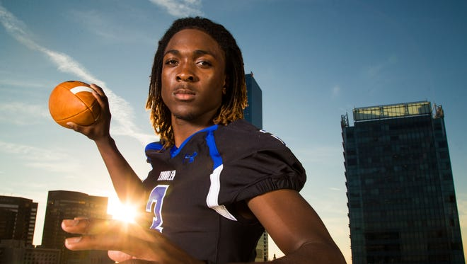 Chandler quarterback Bryce Perkins is azcentral sports Division I Player of the Year for 2014.