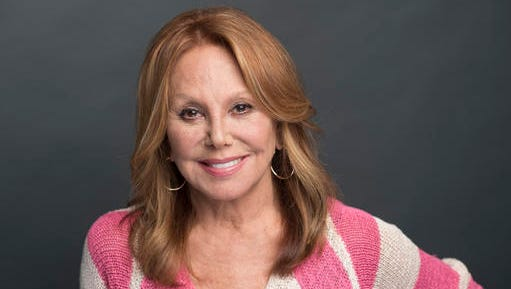 """This Jan. 12, 2017 photo, actress, author and activist Marlo Thomas poses for a photo in New York. Thomas, who broke TV barriers in the series, """"That Girl,""""  is debuting a ready-to-wear and accessories collection for HSN called """"That Woman"""" targeting older woman with clothes in vivid colors and nice fabrics."""