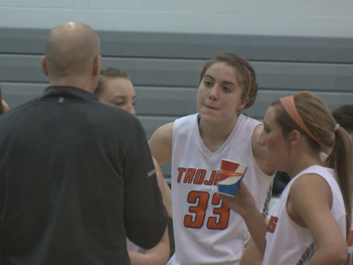 Post Falls forward Melody Kempton had 24 points in the Trojans' game against Lake City.