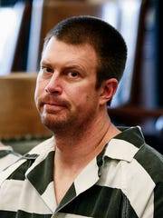 Ryan Leaf sits in a Cascade County courtroom in Great